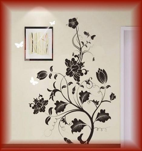Home Decor Design on Home Design Blooming Flowers Wall Art Home Decor 1 469x497 Jpg