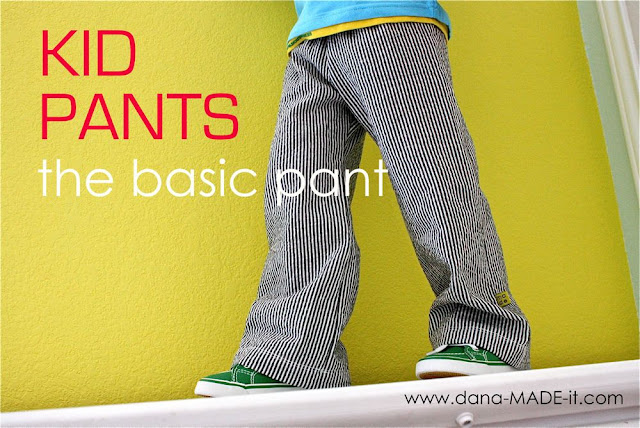 basic pants sewing tutorials