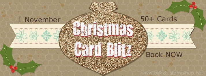 Wondrous Wreath Christmas Card Blitz - Book now!