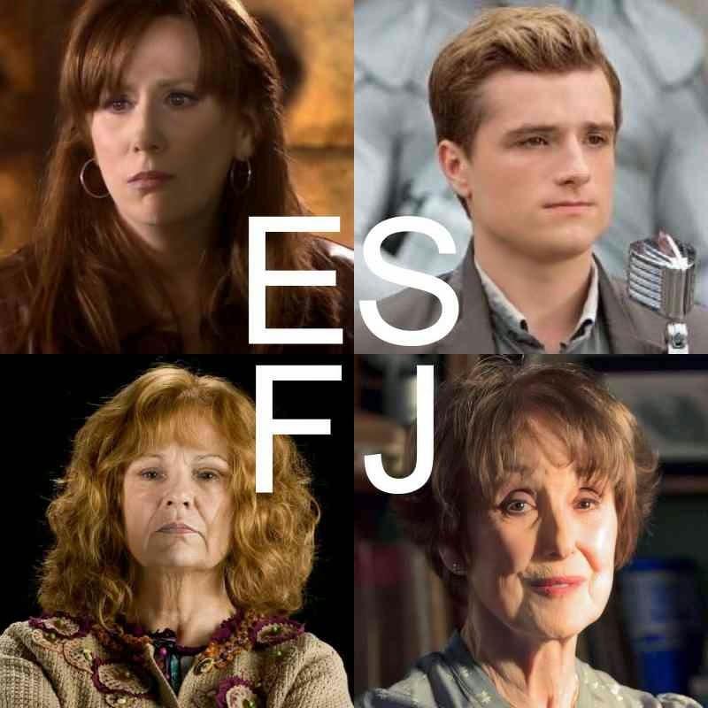 Mbti Harry Potter Houses Mbti character edits: esfj