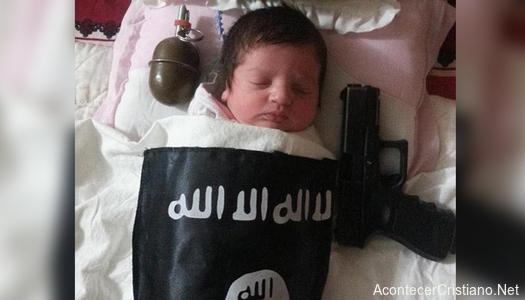 Bebé del Estado Islámico
