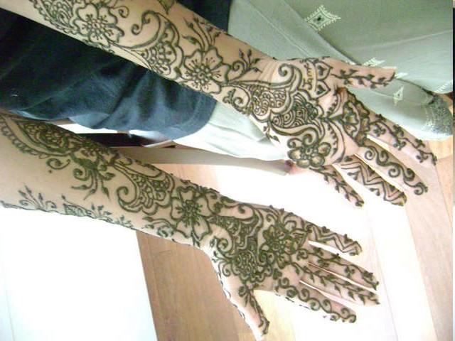 Arm Mehndi Design : Arabic arm mehndi desings