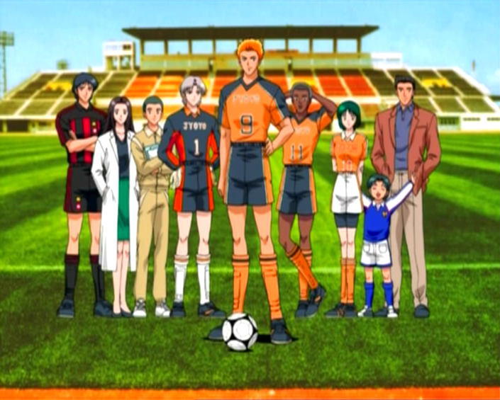 6 Foot Anime Characters : Le football et manga