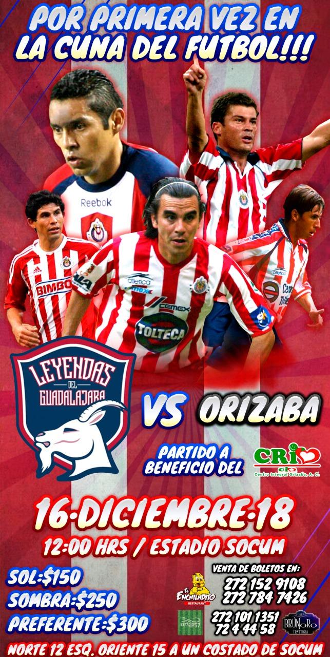 Este 16 de diciembre Resurge el  en Orizaba, cita histórica en el Estadio Socum.