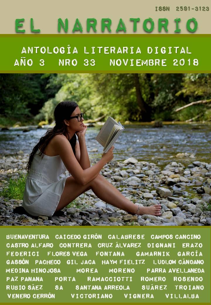 EL NARRATORIO  ANTOLOGÍA LITERARIA DIGITAL NRO 33