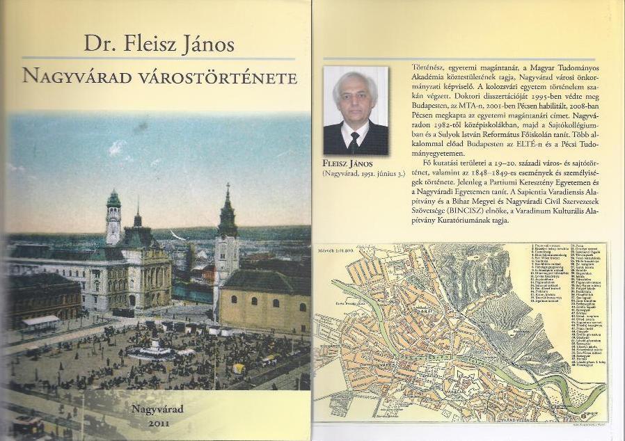 Dr. Fleisz János: Nagyvárad várostörténete