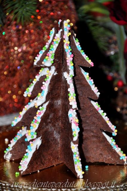 Albero d Natale biscotto-ingrediente perduto