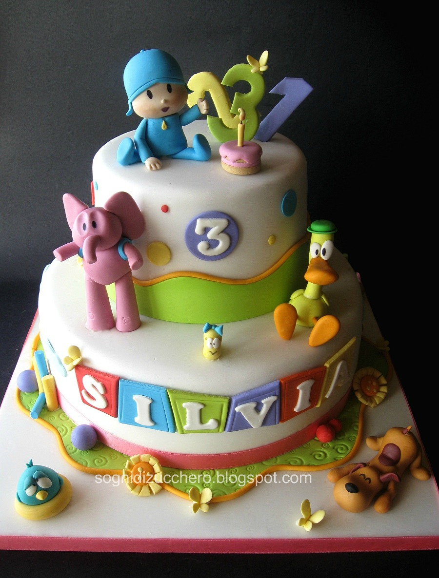 Baby Tv Birthday Cake Uk