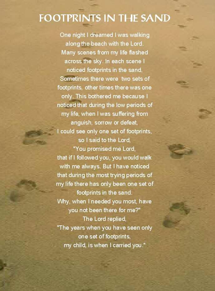 Footprints lyrics by