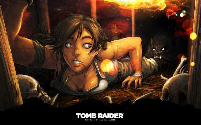 Wolf den - Tomb Raider