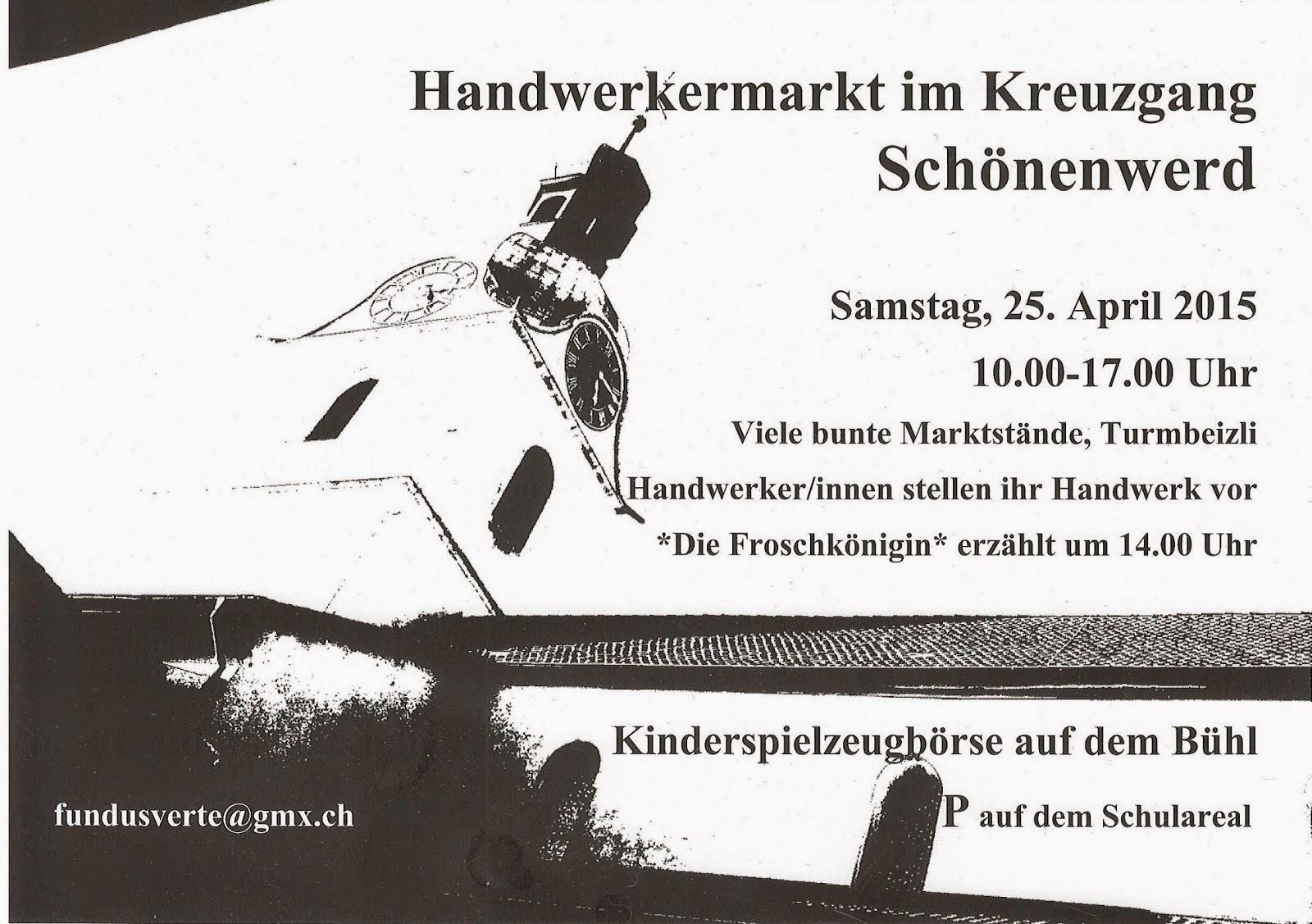 Handwerkermarkt 25. 4. 2015 in Schönenwerd