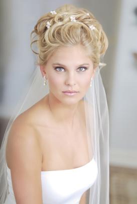 bridal tiara hairstyles wedding