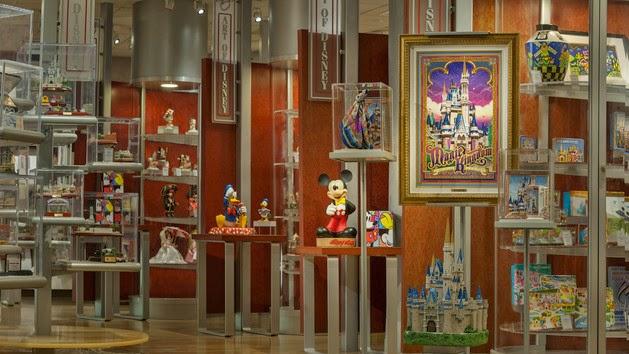Loja The Art of Disney no Parque Epcot em Orlando