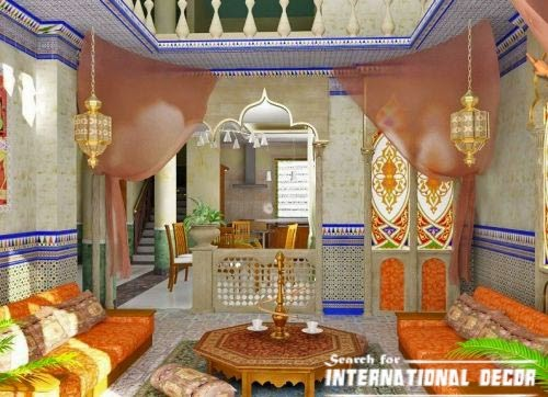 Arabian Living room decorating ideas