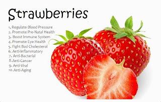 Khasiat Buah Strawberi Baik Untuk Kesihatan