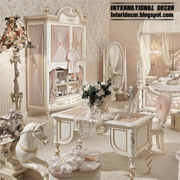 childrens vanity table for luxury girls room