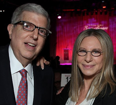 Marvin Hamlisch and Barbra Streisand