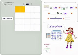 Matemáticas Numeración fracciones, decimales y porcentajes
