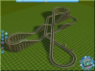 Kennywood Jack Rabbit Roller Coaster Clementon Park Track Layout