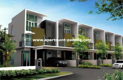 Minden gardens residence apartment for Terrace 9 penang