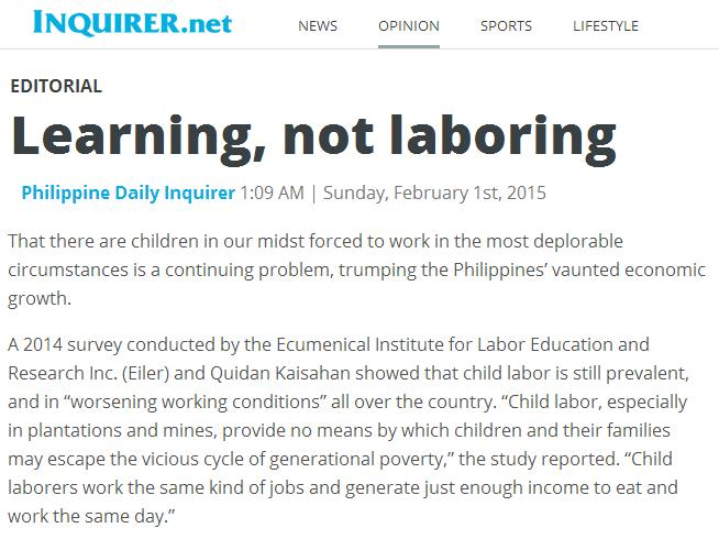 Philippine Basic Education: News That May Have Gone Unnoticed: End ...