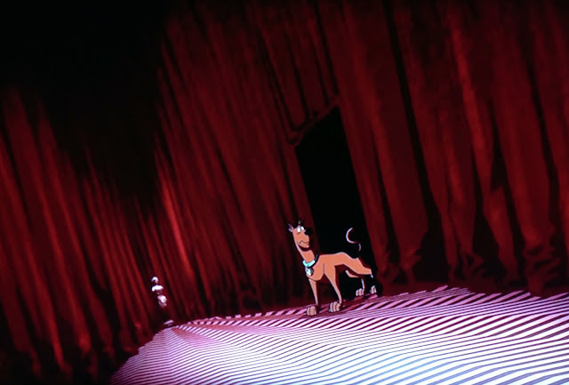 scooby doo twin peaks david lynch red room