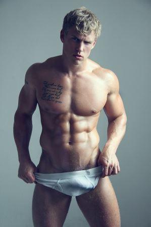 Fotos de machos - modelo sarado - Serge Henir.
