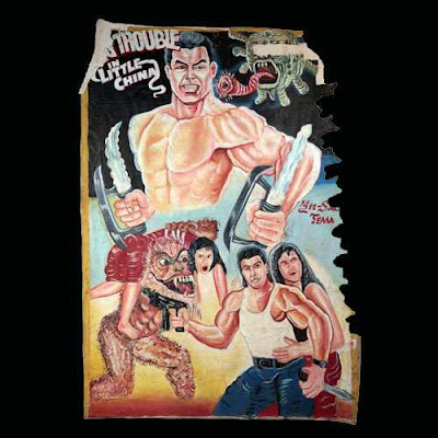 Trouble in Little China poster de Ghana