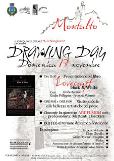 Drawing Day Montalto 2011, locandina