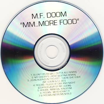 MF Doom – MM..More Food EP (CD) (2004) (320 kbps)