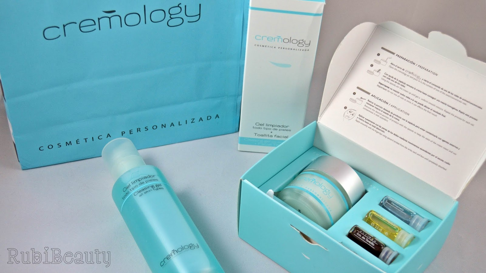rubibeauty review opinion cremology crema rutina facial personalizada