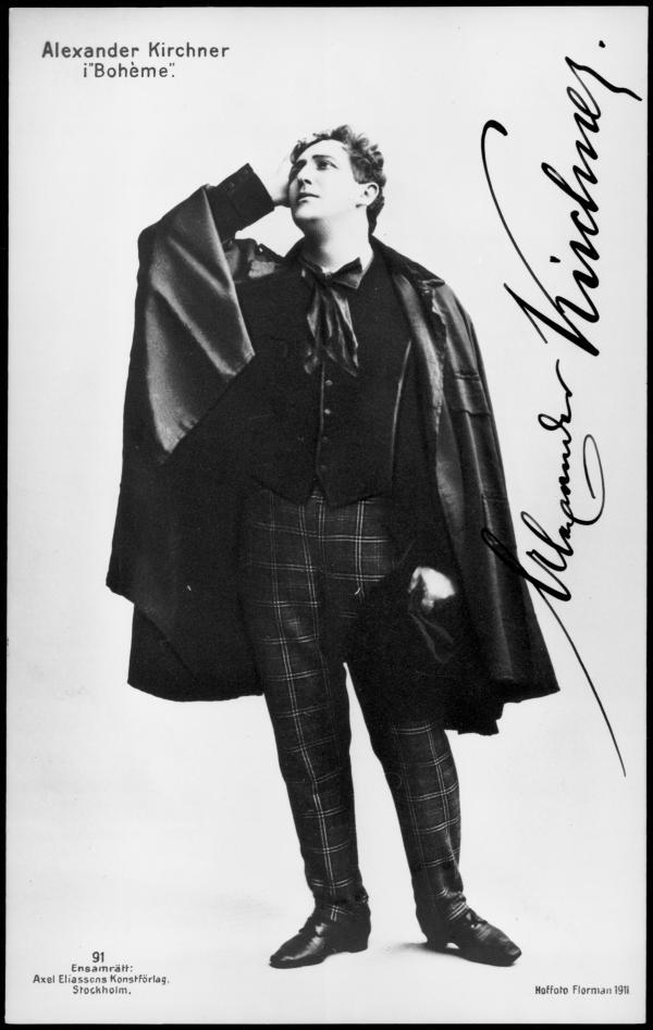 TENOR ALEXANDER KIRCHNER (1880 1948) CD
