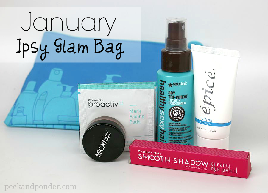 Ipsy Glam Bag - January 2014