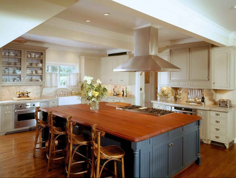 White Cheap Kitchen Designs Photo