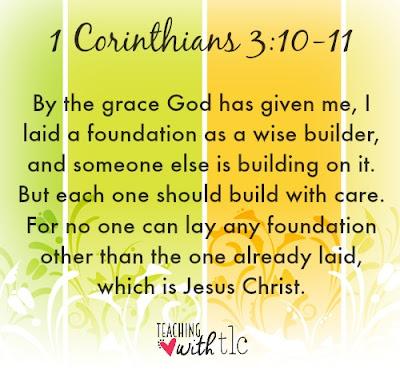 1 Corinthians 3 10 11