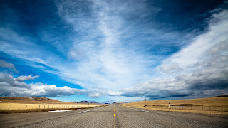 Nature blue sky national high way road hd pc wallpapers