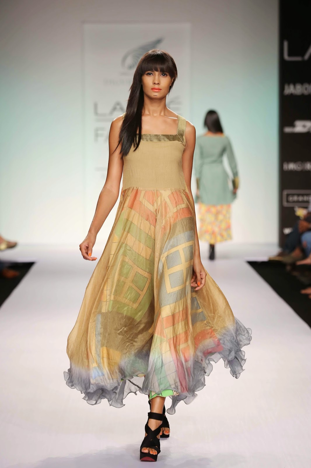 """Ludo and Ladders"" was the interesting title of Digvijay Singh's men's and women's collection for Lakmé Fashion Week Summer/Resort 2014."