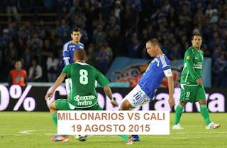 Millonarios vs Deportivo Cali En vivo, clásico de la liga águila lo transmite Win Sports 19-08-2015
