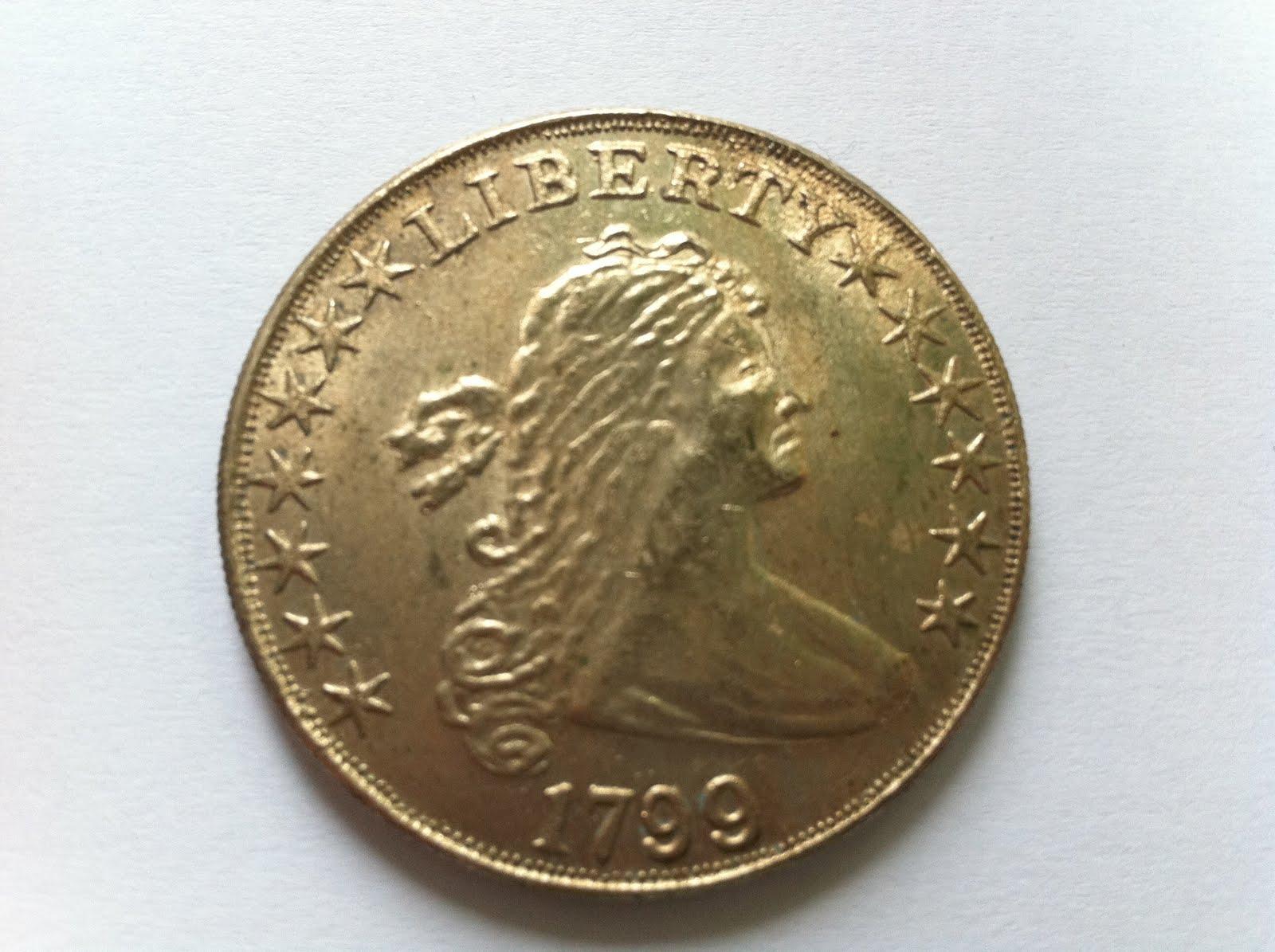 Old Liberty Coins 1799 Liberty Silver Coin