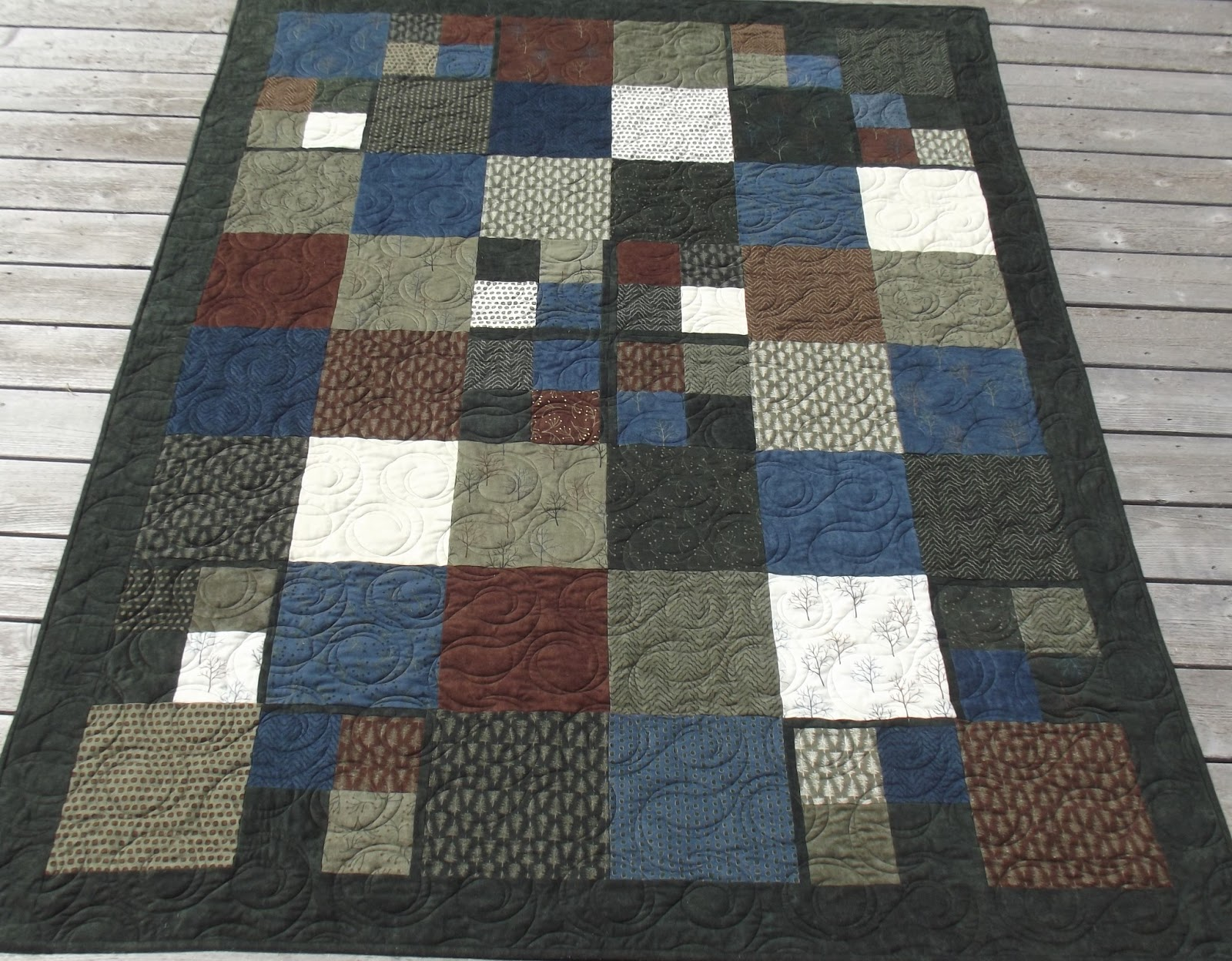 Quilt Patterns For Flannel : Kaelly Studio: The cuddly flannel quilt!