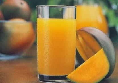 طريقة عمل عصير المانجا المثلجة