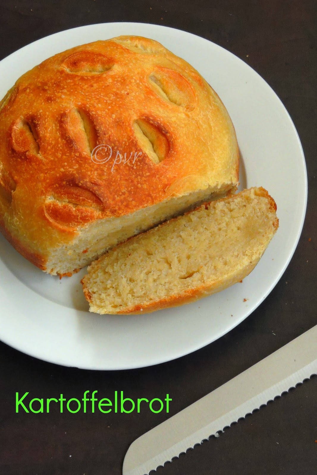 Vegan Kartoffelbrot,,German Potato Bread