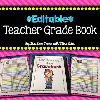 https://www.teacherspayteachers.com/Product/Editable-Class-Grade-Book-1983245