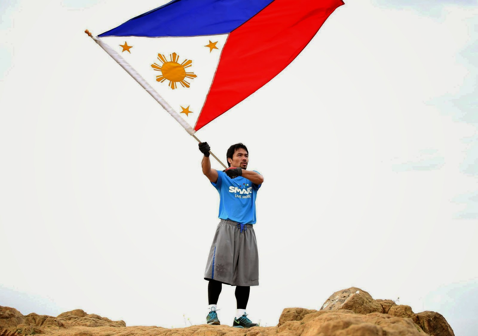 Manny Pacquiao Photo in Facebook