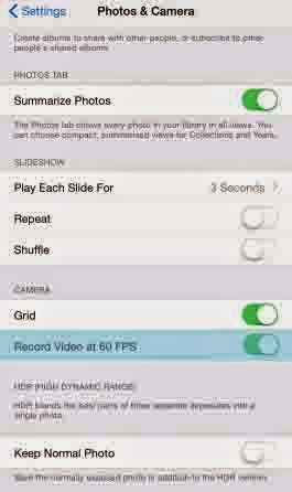 How to record videos at 60 frames Per Second with iPhone