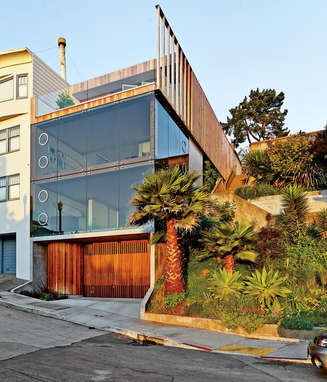 Avant Garde Design Slits And Slats House San Francisco