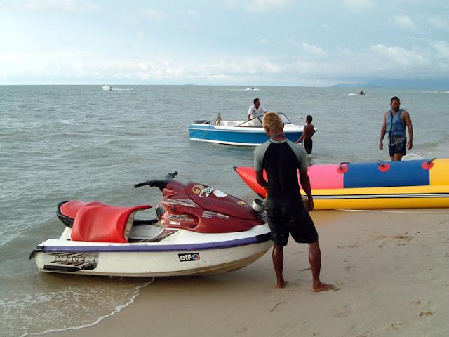 水上摩托、香蕉船