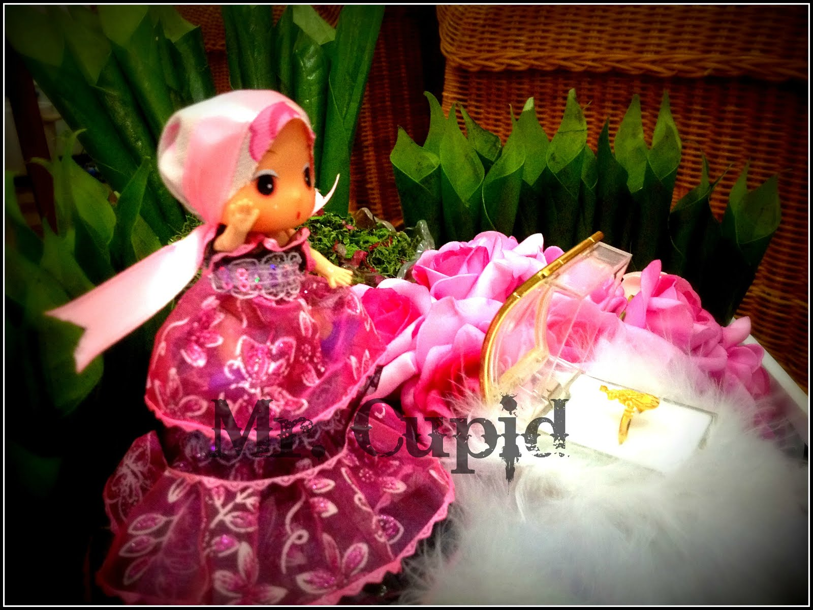 Girl in Pink Scaft..