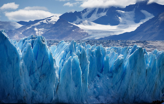 Upsala Glacier, Santa Cruz Provinsi, Argentina