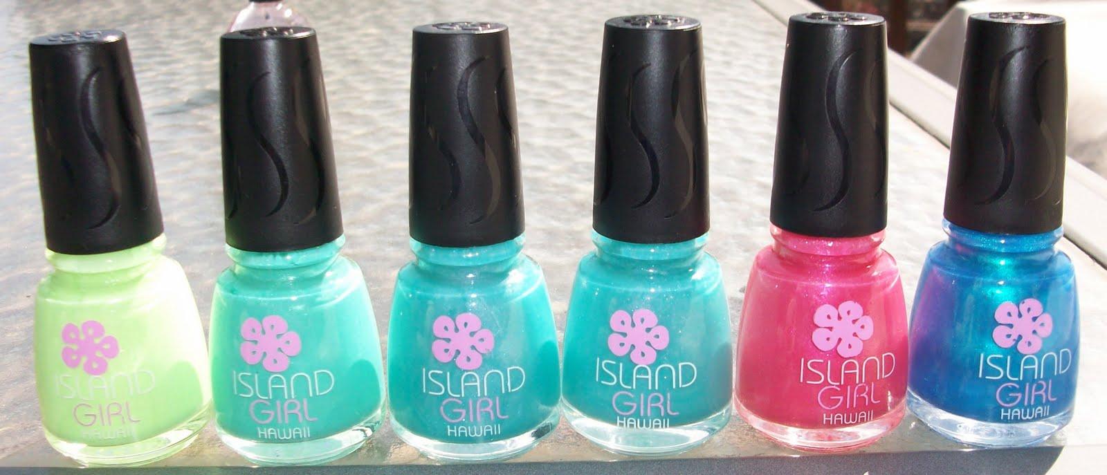 Ali\'s Nail News: UPDATE! Added Polish Names! Lots of Island Girl ...